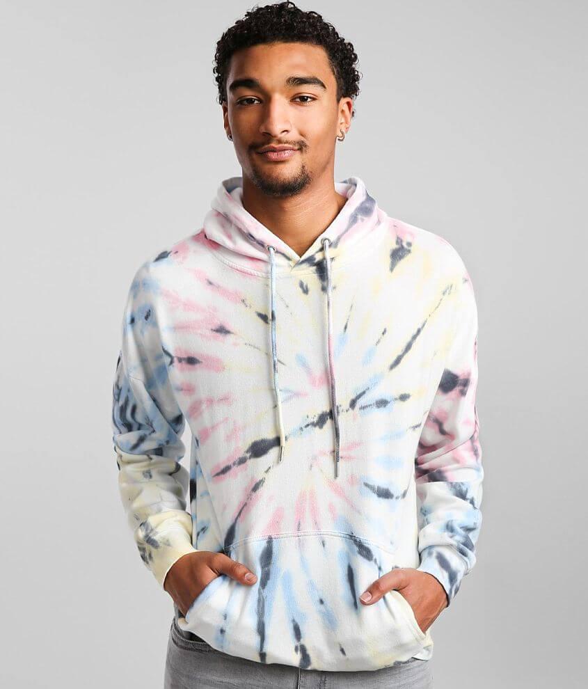 Kuwalla Tie Dye Hooded Sweatshirt front view