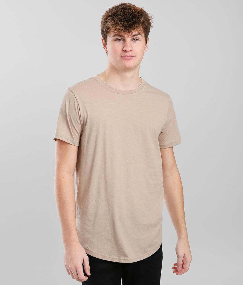 KUWALLA™ Eazy Scoop Basic T-Shirt front view