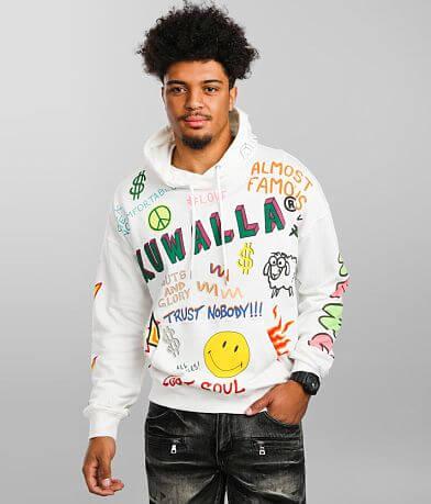 KUWALLA™ Mash Up Hooded Sweatshirt