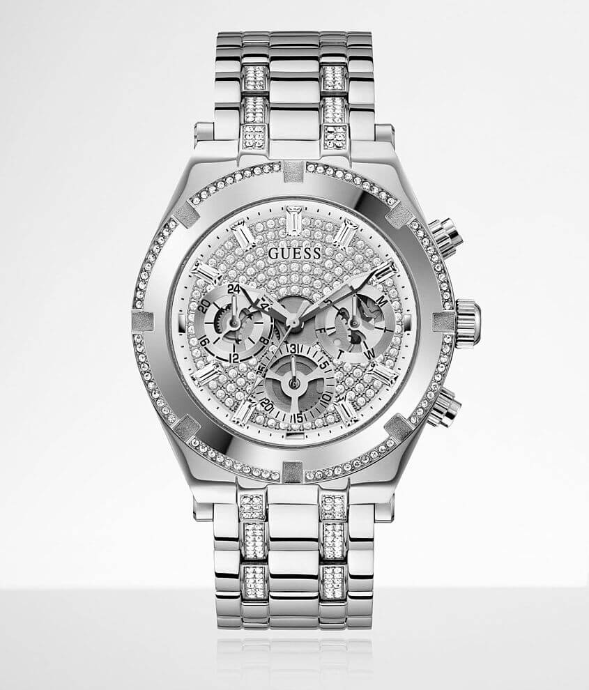 Guess Continental Glitz Watch front view