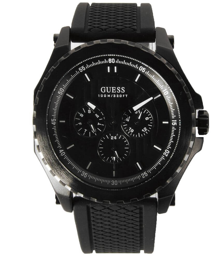 Guess Textured Dial Watch front view