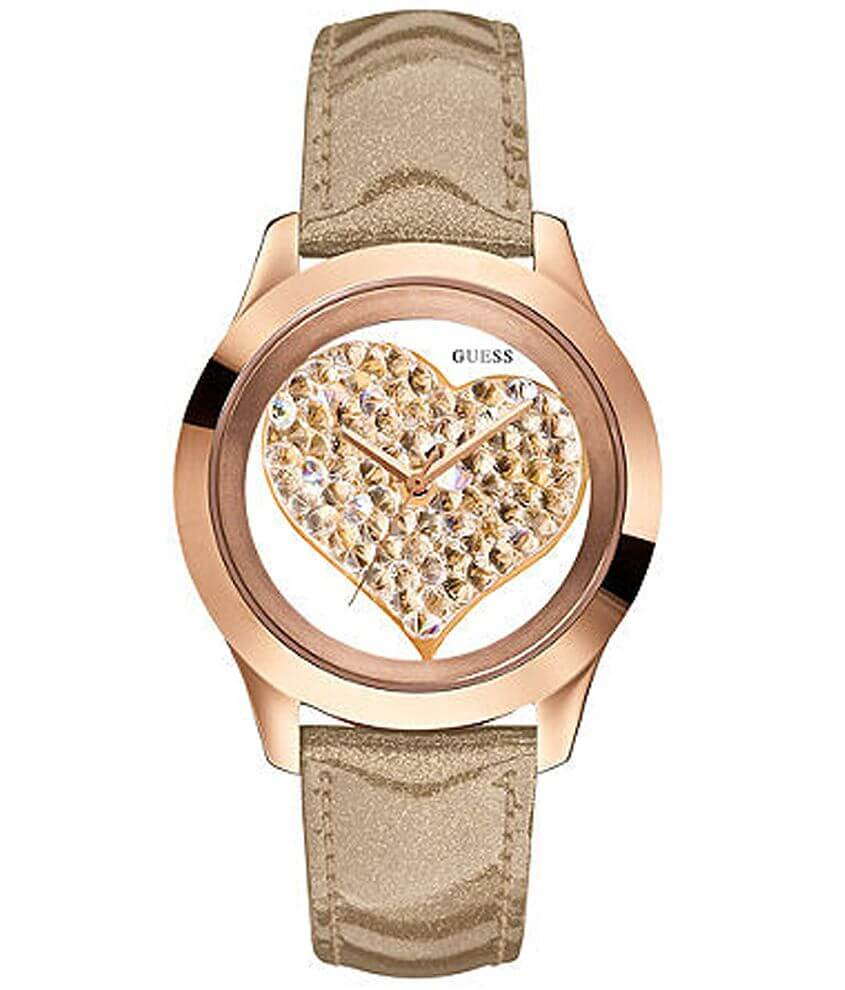 Guess Heart Watch front view