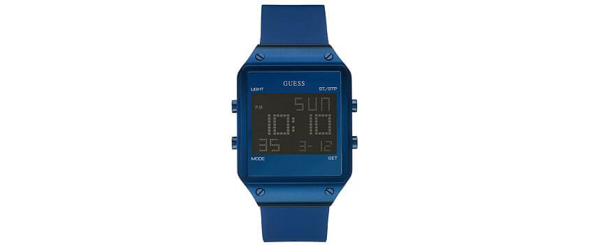 Guess Square Watch front view