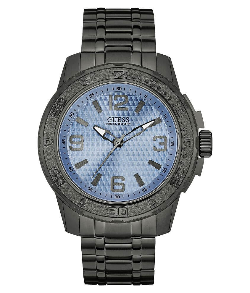 Guess Round Watch front view