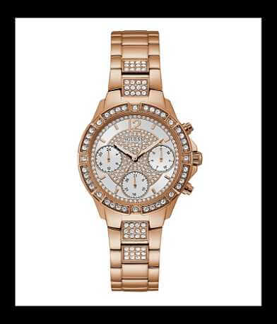 Guess Rhinestone Watch