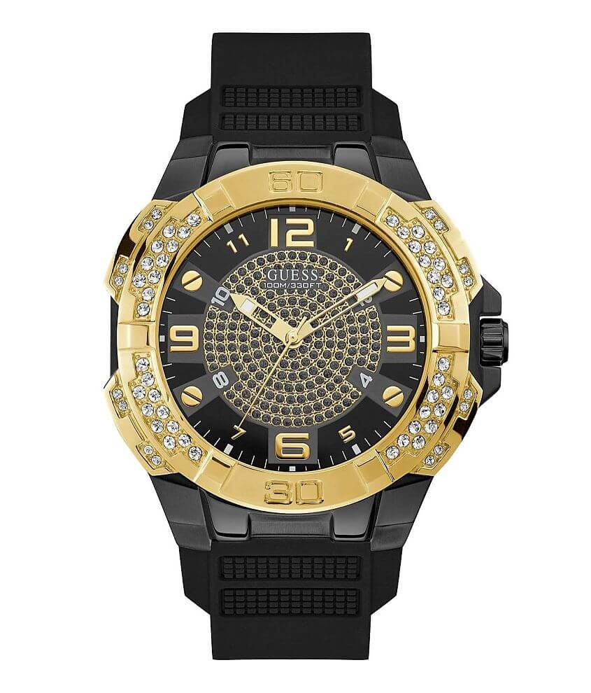 Guess Rhinestone Watch front view