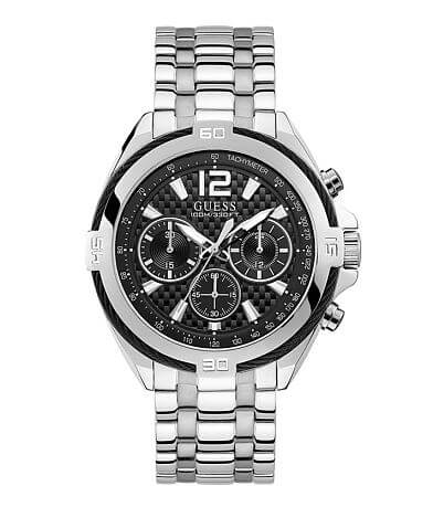 Guess Wire Bezel Chronograph Watch
