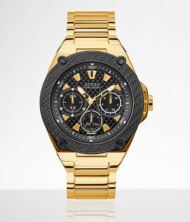 Guess Legacy Gold Watch