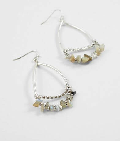 BKE Elongated Stone Earring