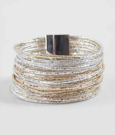 BKE Metallic Foil Bracelet