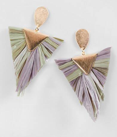 BKE Straw Earring