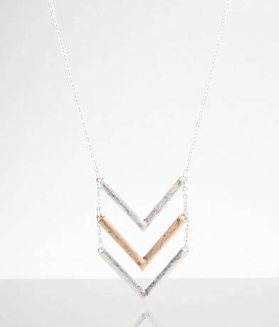 BKE Chevron Necklace