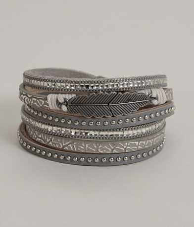 BKE Layered Wrap Bracelet