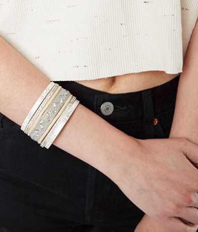 BKE Chevron Glitz Bracelet