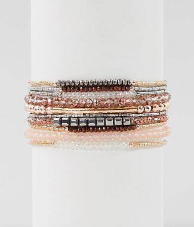 BKE Mixed Bead Bracelet Set