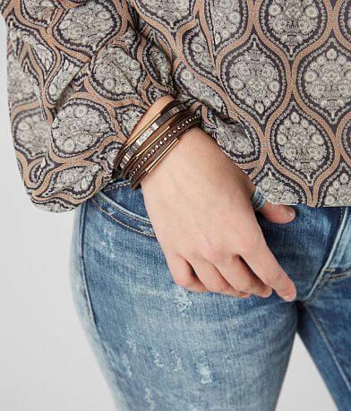 BKE Metal Glitz Bracelet