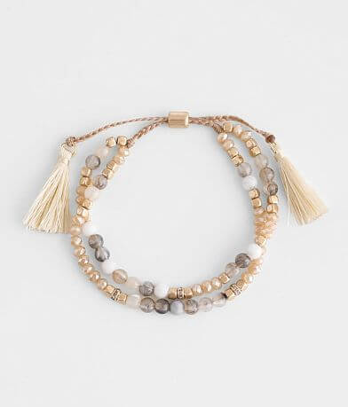 BKE Beaded Slider Bracelet