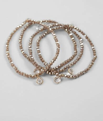 BKE Beaded Stretch Bracelet Set