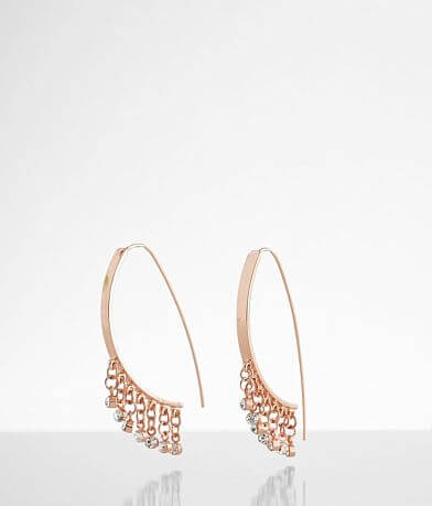 BKE Pull Through Glitz Earring