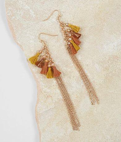 BKE Tassle Fringe Earring