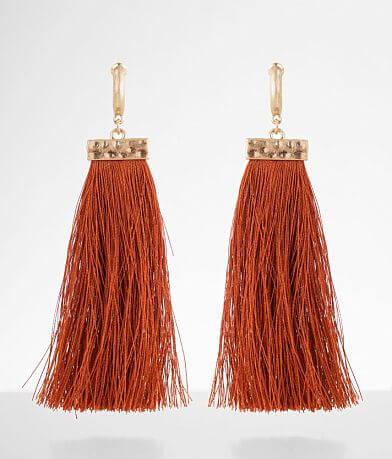 BKE Statement Fringe Earring