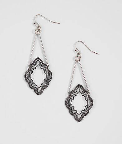 BKE Filigree Drop Earring