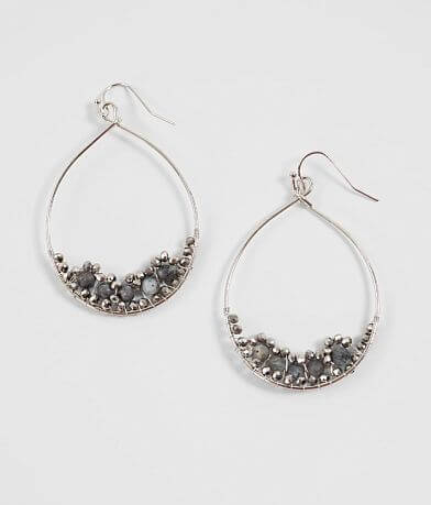 BKE Hoop Drop Earring