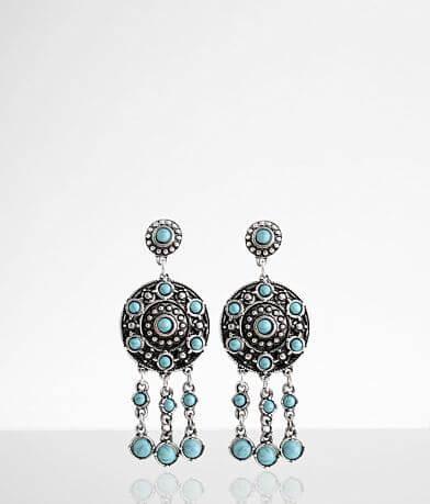 BKE Turquoise Statement Earring