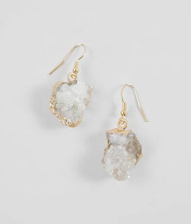 BKE Druzy Drop Earring