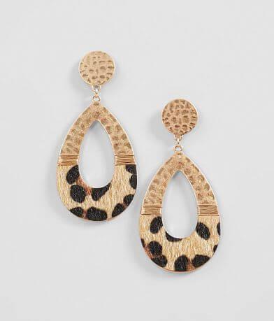 BKE Leopard Earring
