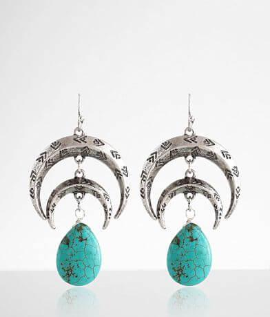 BKE Turquoise Drop Earring