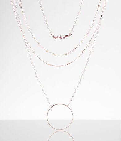BKE 3 Pack Beaded Necklace Set