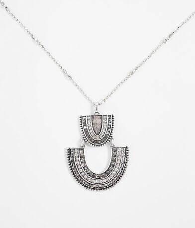 BKE Glitz Pendant Necklace