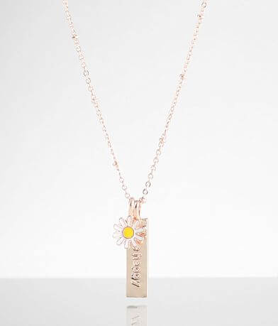 BKE Be Happy Flower Necklace