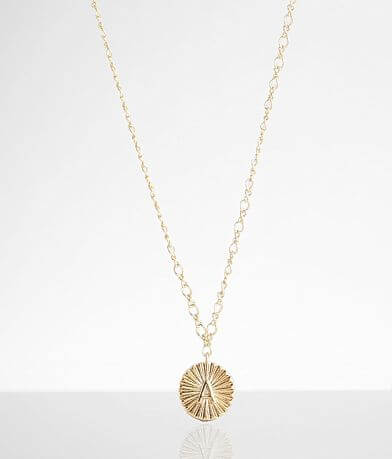 BKE 14k Gold Plated A Necklace