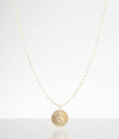 BKE 14k Gold Plated S Necklace