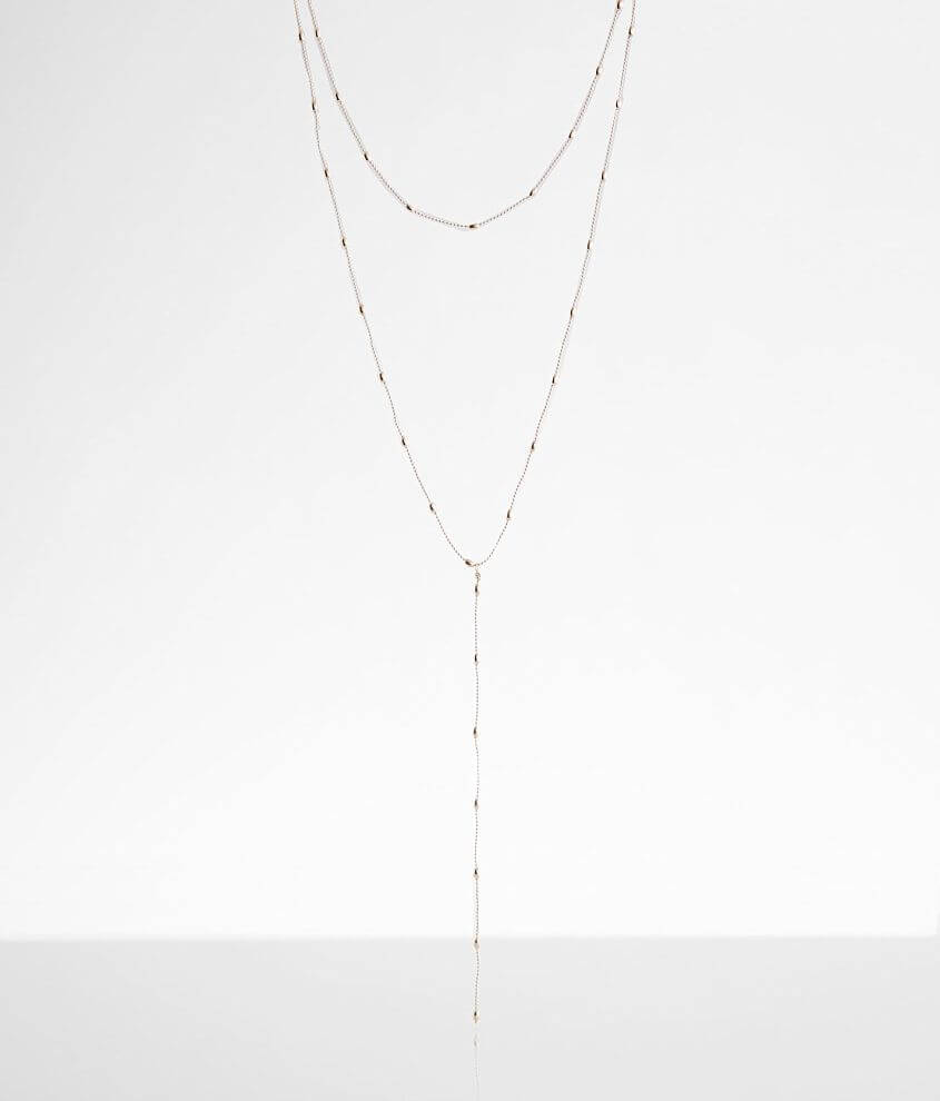 BKE Beaded Necklace front view