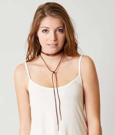 BKE Knotted Choker Necklace