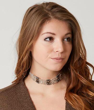 BKE Beaded Choker Necklace