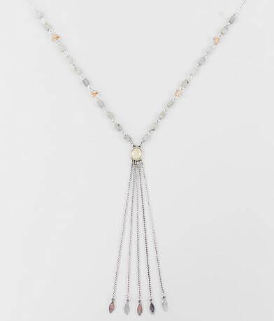 BKE Stone Pendant Y-Necklace