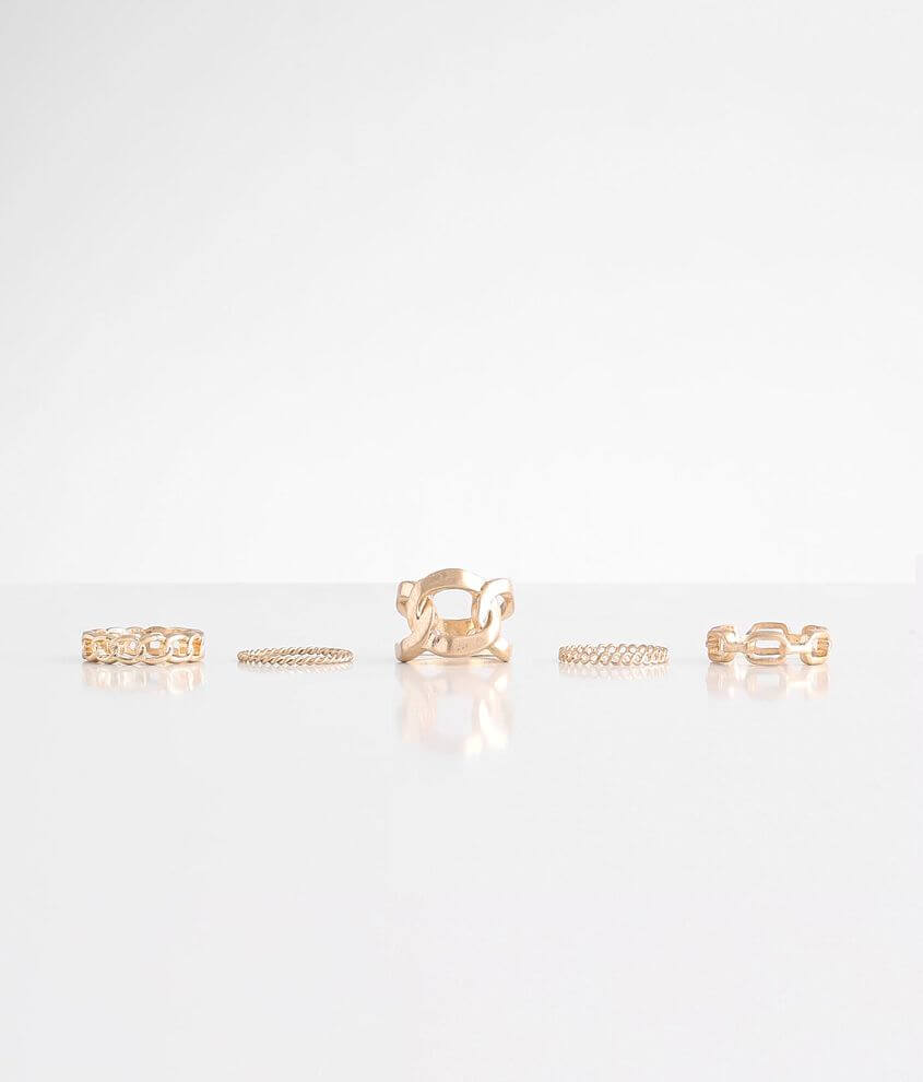 BKE 5 Pack Chain Ring Set front view