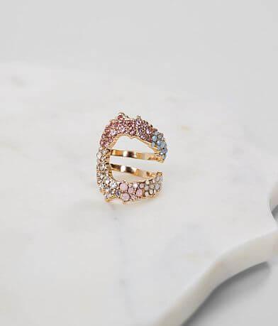 BKE Multi Stone Ring