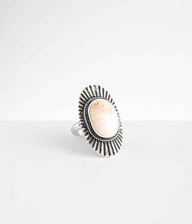 BKE Howlite Stone Ring