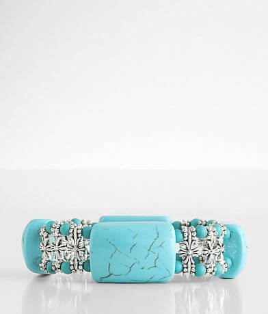 BKE Turquoise Statement Bracelet