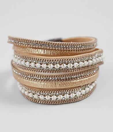 BKE Glitz Wrap Bracelet