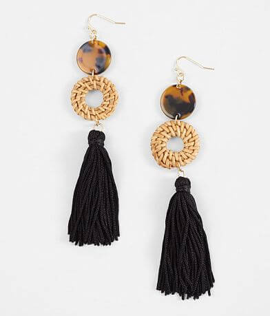 BKE Tassel Drop Earring