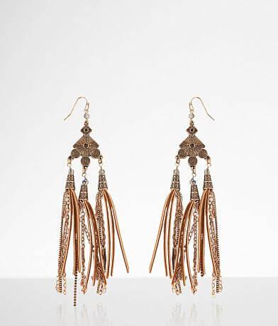 BKE Glitz Tassel Earring