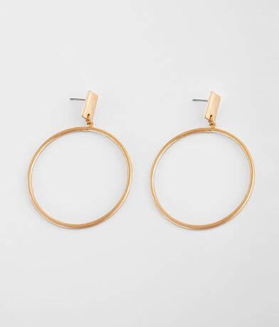 BKE Metal Hoop Earring