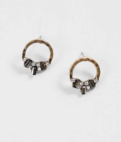 BKE Hammered Circle Earring