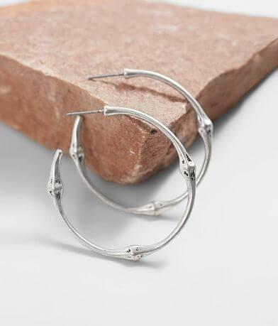 BKE Chunky Basic Hoop Earring